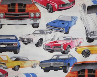 Muscle Cars Quilt Etsy