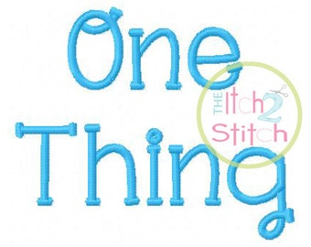 Thing font   Etsy