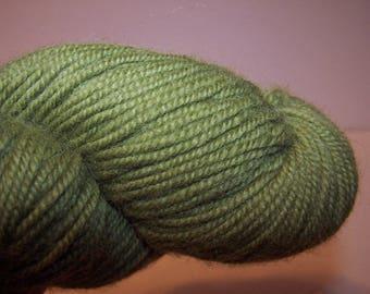 1 orphan skein Ultra Alpaca from Berocco in pea green wool alpaca yarn