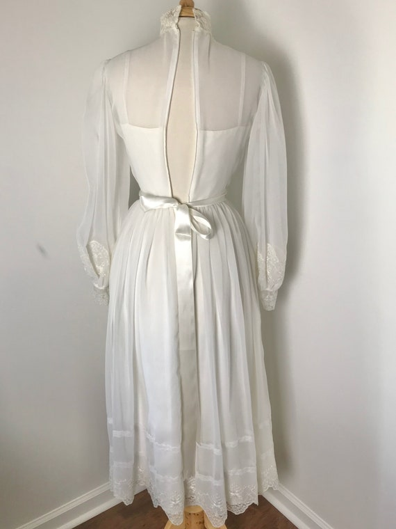Vintage 1970s Gunne Sax-style Prairie Dress - image 8