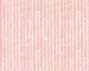 MODA Fabric ~ HAZELWOOD ~ by One Canoe Two 36016 18 by 1//2 yard Persimmon