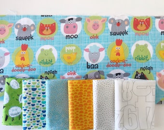 Assortment Fat Quarter Bundle - 7 Fat Quarters (Bundle 103)