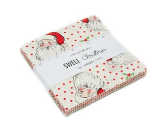 Swell Christmas by Urban Chiks - Charm Pack (31120PP) - Moda