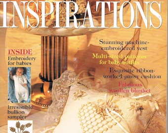 INSPIRATIONS Magazine -The World's Most Beautiful Embroidery Issue 16