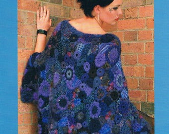 Freeform Serendipitous Design Techniques for Knitting & Crochet 2nd Edition by Prudence Mapstone