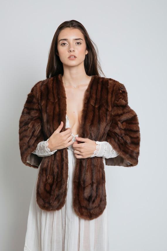 1950's Fur Shrug