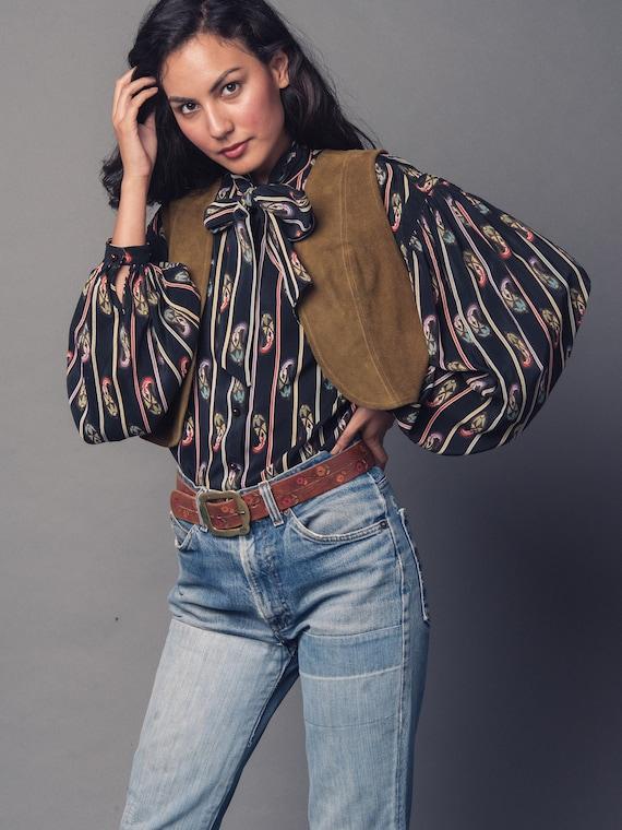 1970's Suede Cropped Vest