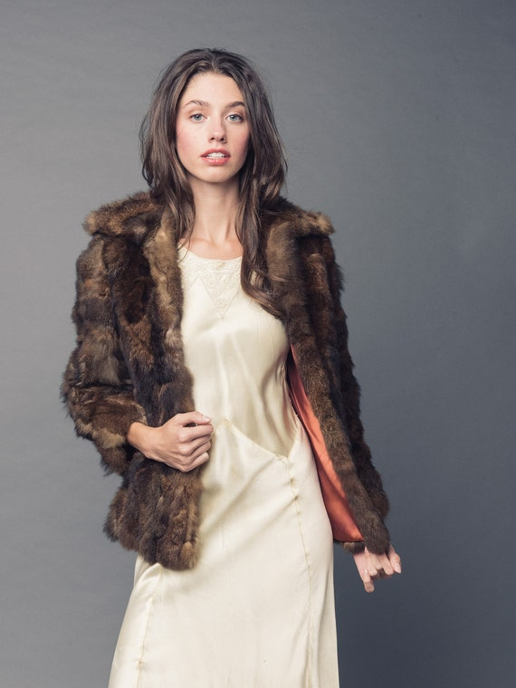 1970's Joseph Magnin Fur Jacket