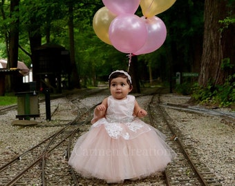 c36c5668bd6 Mini Bride Tutu Dress. CarmenCreation