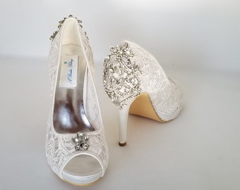 Wedding Shoes Custom Dyed And Designed Bridal Shoes Von Abiddabling