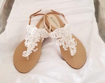 c782c302f20ac Bridal sandals | Etsy