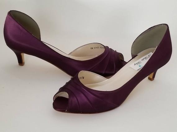 Eggplant Purple Wedding Shoes Eggplant