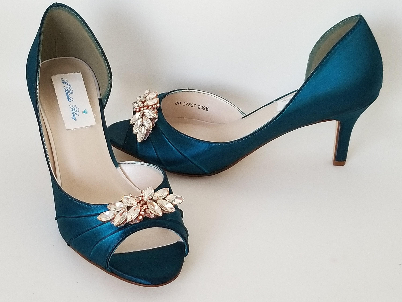 Mariage turquoise chaussures turquoises chaussures de mariée avec des des avec couleurs suppléHommes taires en or Rose Design -100 de ramasser des chaussures de mariage en or Rose 4e808a