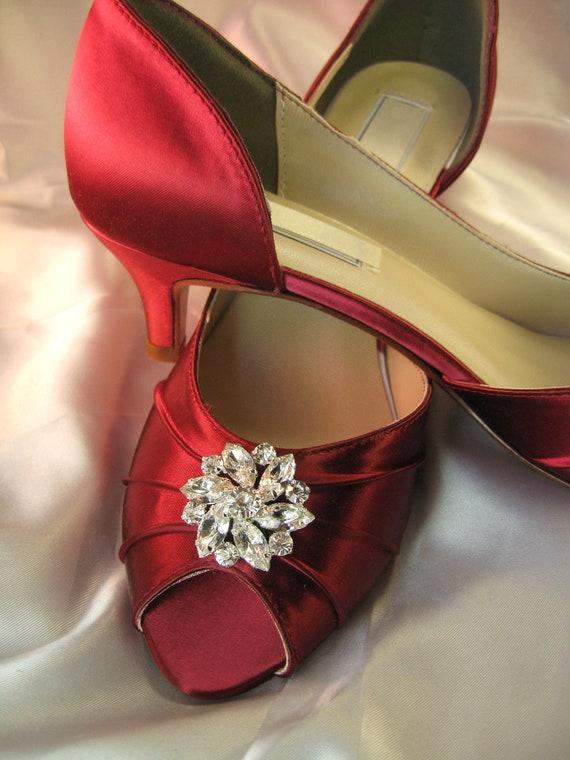 Hochzeitsschuhe Rot Hochzeit Schuhe Rot Brautschuhe Mit Etsy