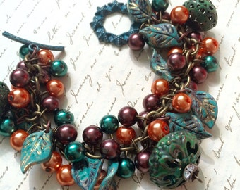 Cha Cha Cluster Bracelet - Bohemian Jewelry - Boho Style