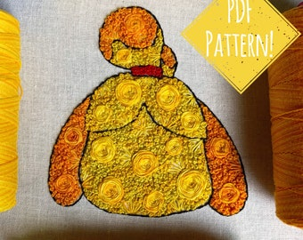 Floral Pop Isabelle PDF Digital DIY Embroidery Pattern