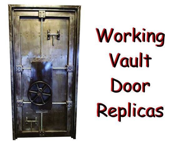 Vault Door 027st Industrial Style Decor By Industrial Etsy