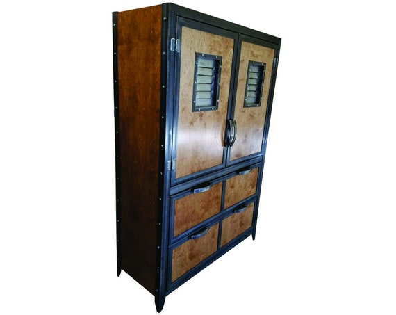 Credenza Industrial Fai Da Te : Industrial office locker 062 file storage etsy