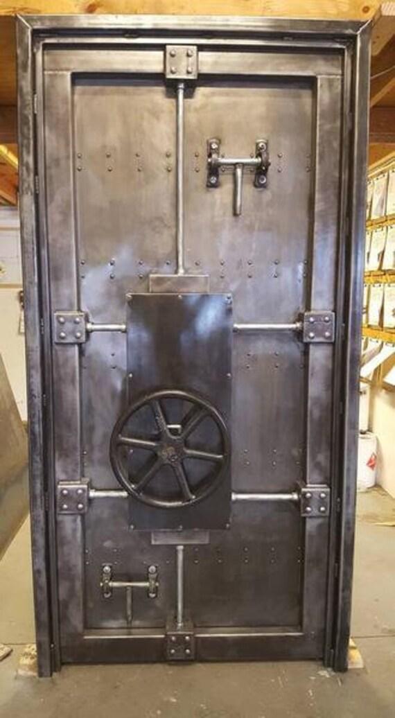 Vault Door # 027ST U2022 Industrial Style Décor By Industrial Evolution  Furniture Co.
