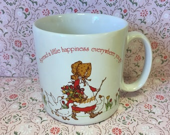 Vintage Holly Hobbie Cup - Holly Hobby Mug - Designers Collection - American Greetings