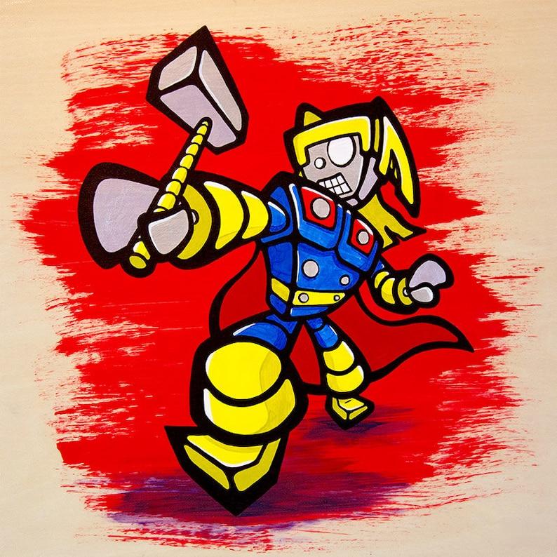 Thor Bot Giclee Print image 0