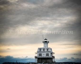 Photograph Fine Art Lighthouse Bug Light Photo Print