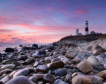 Nautical Photograph Montauk Lighthouse Print