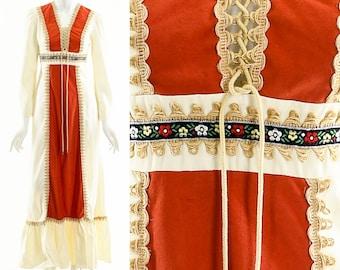 GUNNE SAX Style Dress,Renaissance Dress,RenFaire Prairie Dress,Bohemian Boho Dress,Victorian Inspired Maxi Dress,Festival Hippie Dress,Rare