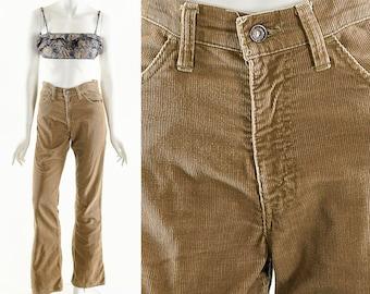 Rare Levi's 646,Vintage Levi's Corduroy Bellbottoms,Vintage Brown Flares,60s Deadstock Levis,Vintage Rare Levis,Bell Bottoms,Flare Pants