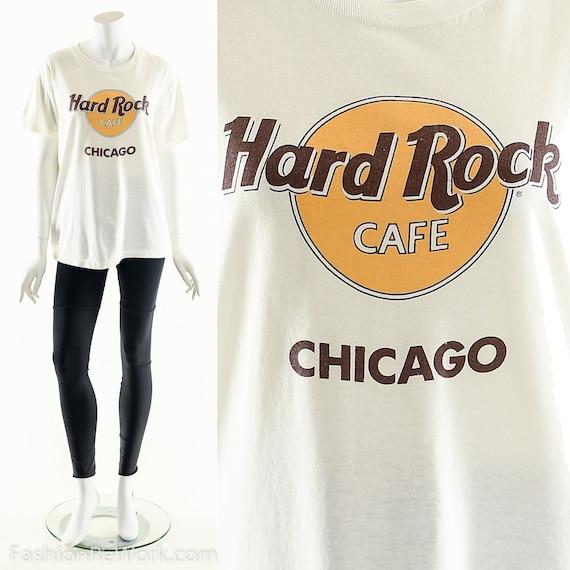 Vintage Hard Rock Cafe,Hard Rock Cafe T-Shirt,Chic