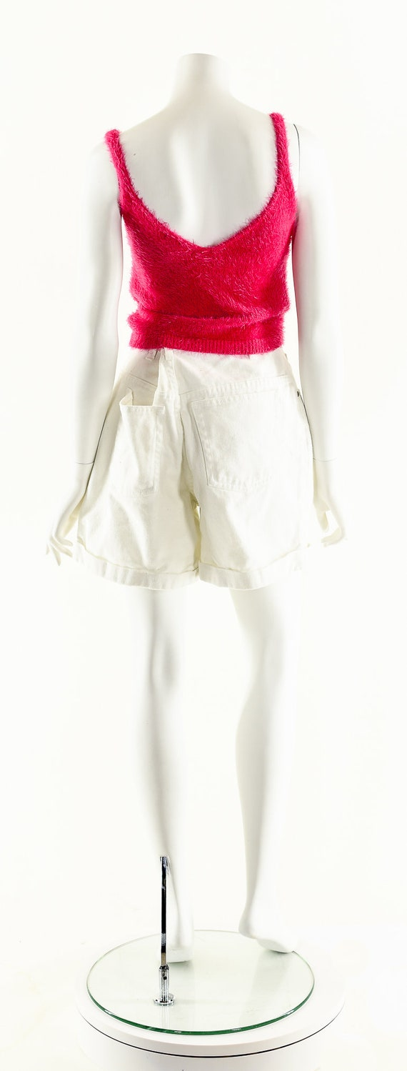 Vintage Denim Shorts,LA Blues Shorts,White Denim … - image 6