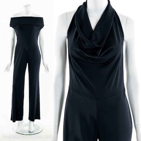 Black Jumpsuit, 90's Black Jumpsuit, 90's Jumpsuit