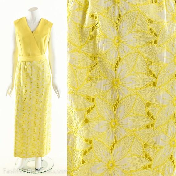 Yellow Daisy Dress,Daisy Lace Dress,Sunny Yellow … - image 2