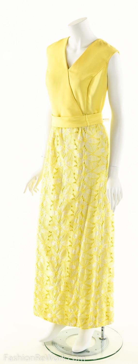 Yellow Daisy Dress,Daisy Lace Dress,Sunny Yellow … - image 5