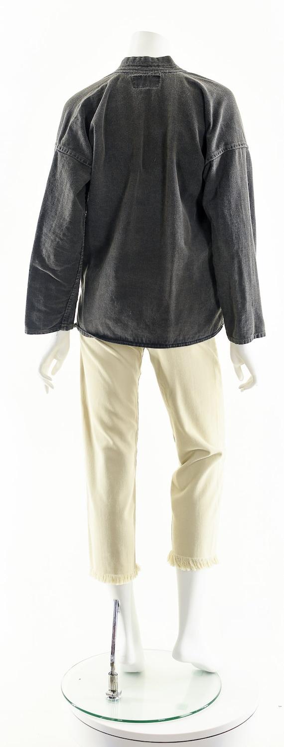 Charcoal Denim Kimono,Light Gray Kimono,Vintage J… - image 7