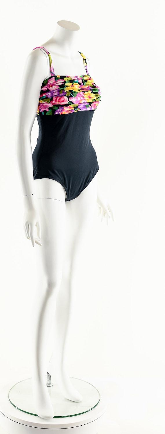 Vintage One Piece Swimsuit,Vintage 80's Swimsuit,… - image 2
