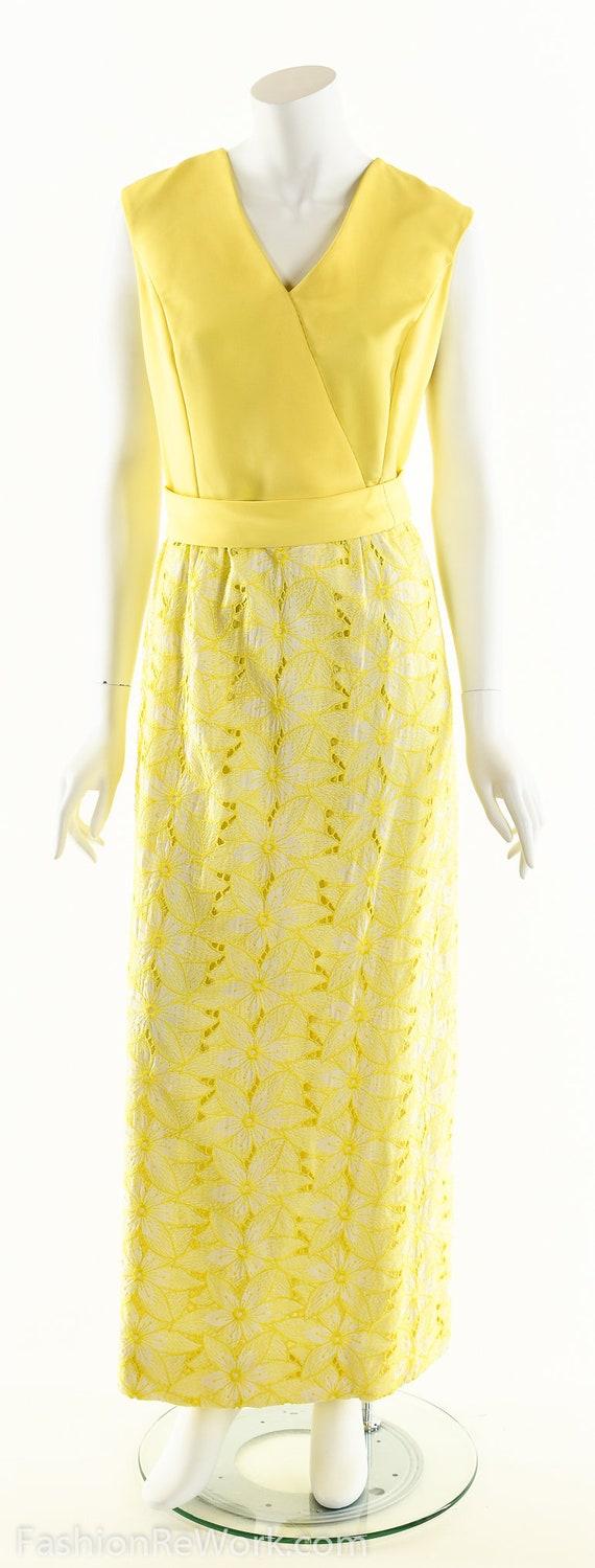 Yellow Daisy Dress,Daisy Lace Dress,Sunny Yellow … - image 9