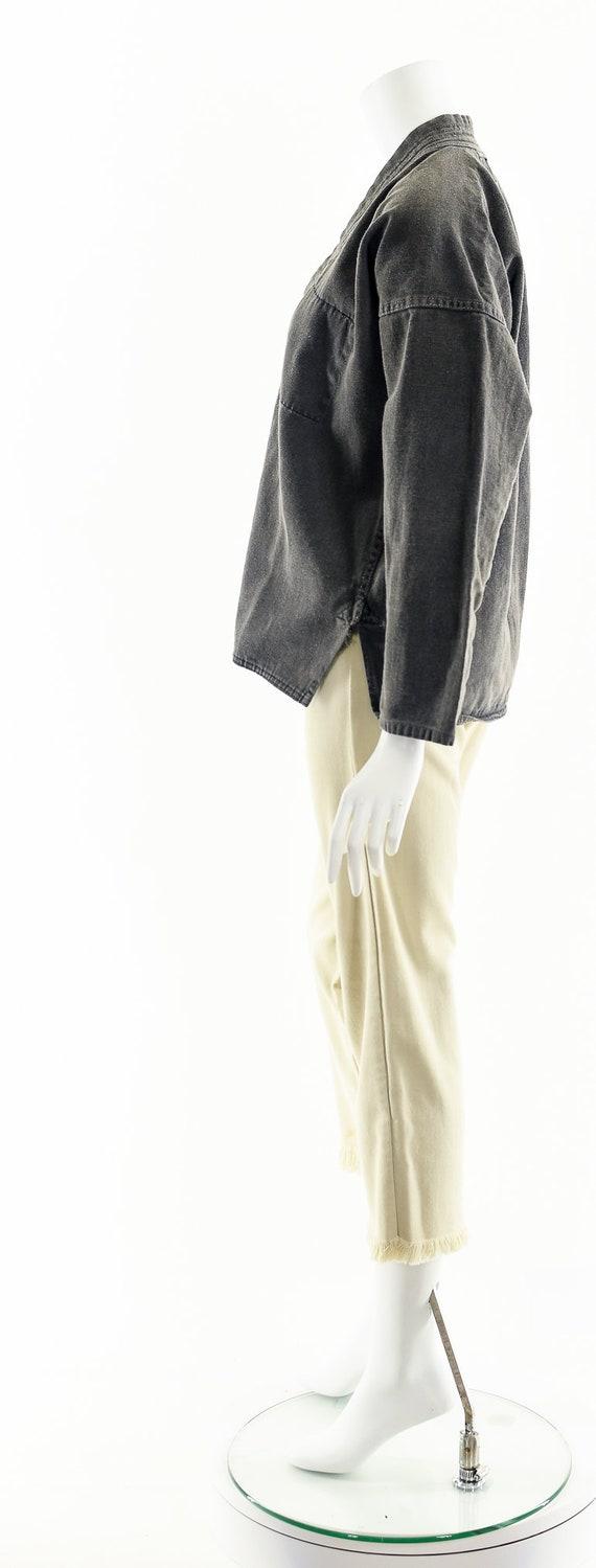 Charcoal Denim Kimono,Light Gray Kimono,Vintage J… - image 9