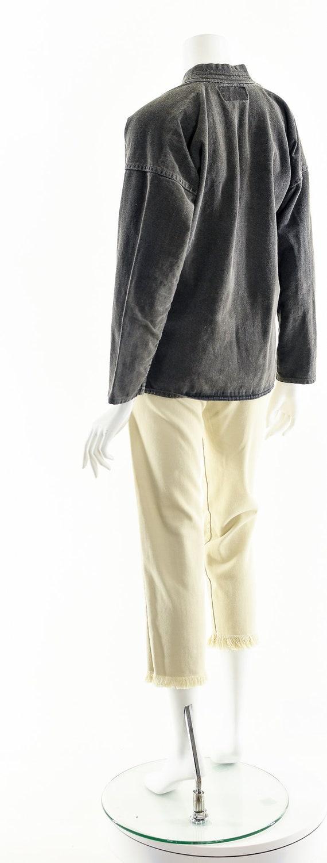 Charcoal Denim Kimono,Light Gray Kimono,Vintage J… - image 8