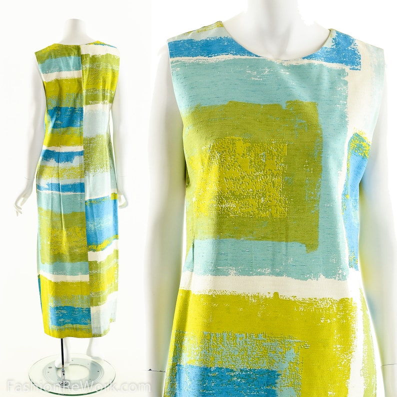Mark Rothko DressModern Art Dress60s Art Print image 0