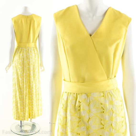 Yellow Daisy Dress,Daisy Lace Dress,Sunny Yellow … - image 3