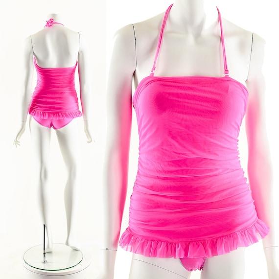 Princess Barbie Swimsuit,00's Y2K One Piece Suit,B