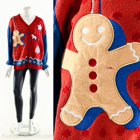Ugly Christmas Sweater,Christmas Cookies Sweater,T
