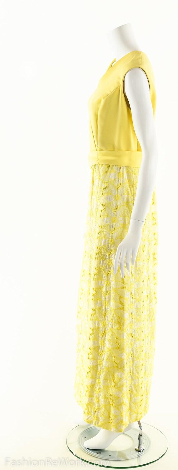 Yellow Daisy Dress,Daisy Lace Dress,Sunny Yellow … - image 6