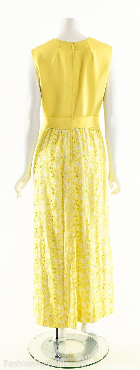 Yellow Daisy Dress,Daisy Lace Dress,Sunny Yellow … - image 8
