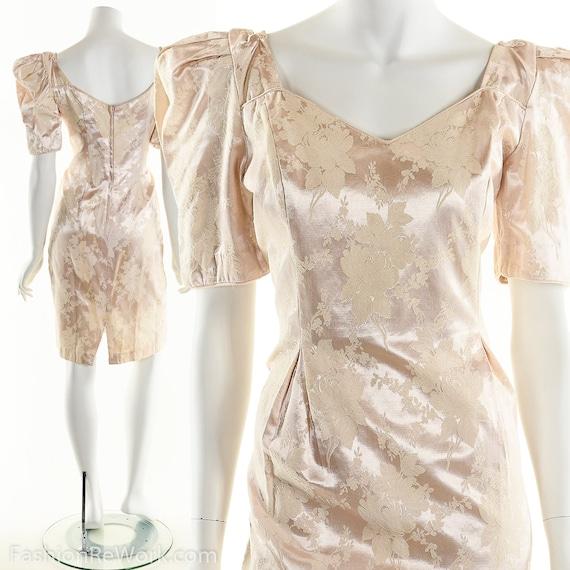 PInk Dress, PInk Brocade Dress, Brocade Dress,Scul