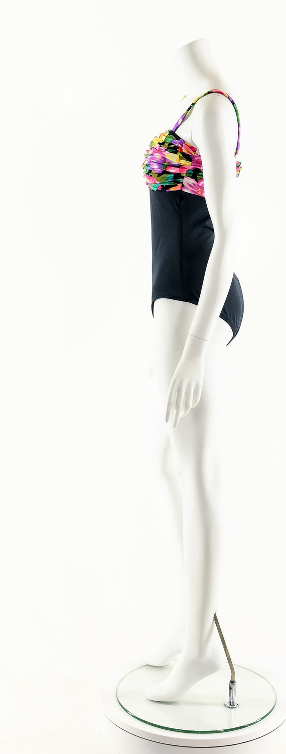 Vintage One Piece Swimsuit,Vintage 80's Swimsuit,… - image 6