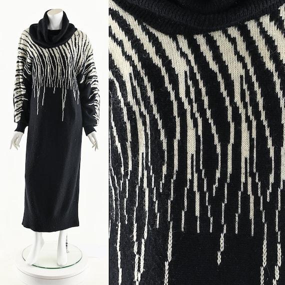 Tiger Claw Slash Dress,Turtleneck Sweater Dress,Vi