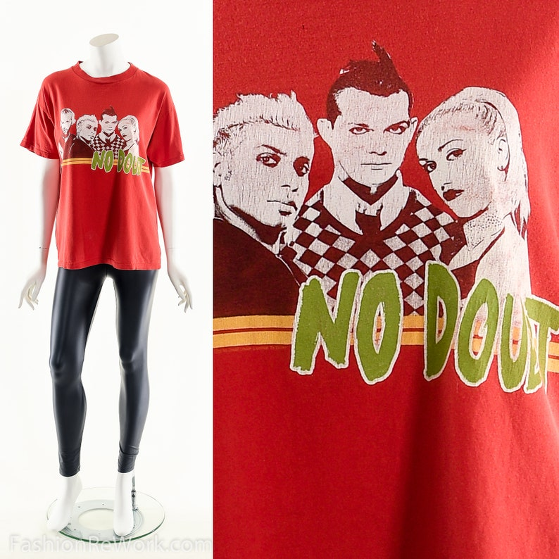 Vintage NO DOUBT TshirtNo Doubt Bootleg ShirtReturn From image 0