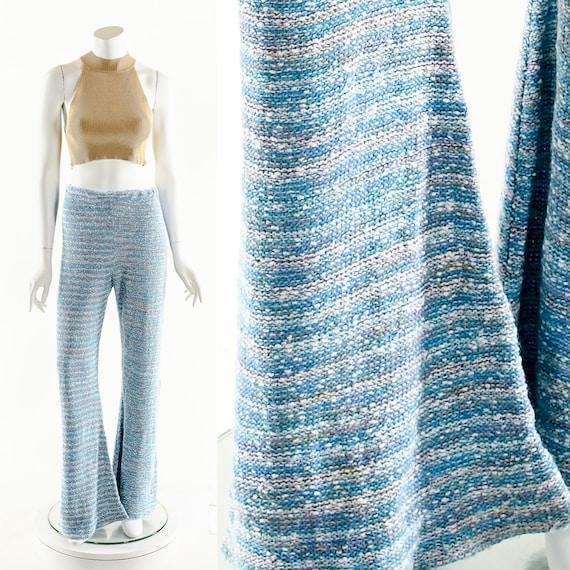 Space Dye Bell Bottoms,Vintage Bobbie Brooks Knit… - image 1